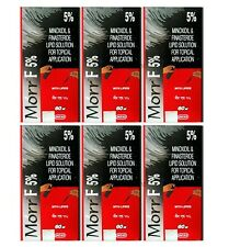10X Pack Morr F 5% Hair Regrowth DHT blocker FDA approved 60ml  Free Shipping