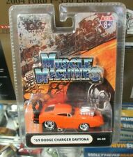 Muscle Machines '69 Dodge Charger Daytona Orange 1969 Mopar Hemi Race Drag Car