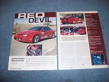 "1996 Pontiac Sunfire GT 625hp Custom Article ""Red Devil"""