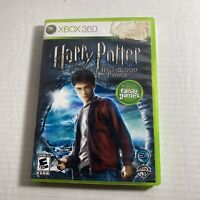 Harry Potter and the Half-Blood Prince Microsoft Xbox 360 Complete Video Game
