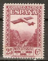 1931 MONSERRAT AEREA EDIFIL 652** SIN FIJASELLOS MUY BIEN CENTRADO