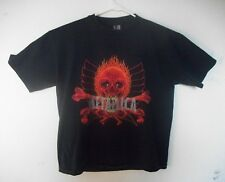 Vintage Metallica 1997 Pushead Double-Sided Tour Tee Shirt Size Adult large