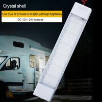 12V/24V 72 LED Car Truck Auto Van Vehicle Dome Roof Ceiling Interior Light Lamp