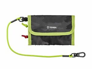 Tenba Tools Reload Universal - Memory Card Wallet - Black/Lime