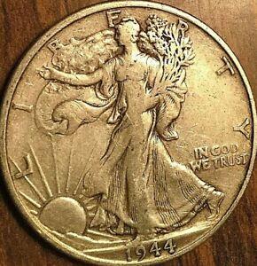 1944-S USA SILVER 50 CENTS HALF DOLLAR COIN