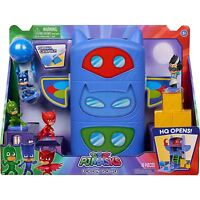 Pj Masks - Pliegue & Go Sede con Figuras Parque Infantil Niños Juguete