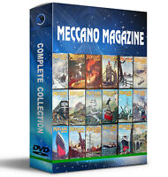 Complete Meccano Magazine Collection 3x cd Set + 400 Bonus Manuals For PC/MAC