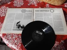Tony Mottola  Guitar USA LP Album Canada pressing