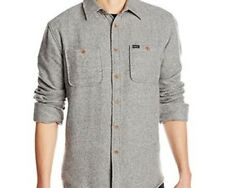 MATIX Freedman Flannel Shirt (L) Grey