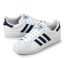 adidas Originals Superstar II Mens UK 10 EU 44 2/3 White & Navy Trainers G17070