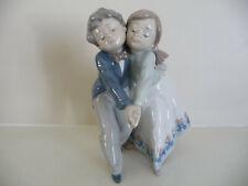 Lladro Tango Infantile Dancing Class Figurine Boy and Girl Dancing #5741 Mint