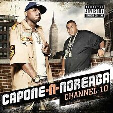 NEW Channel 10 BY Capone-N-Noreaga (CD 2009, SMC Records) BUSTA RYMES RON BROWNZ