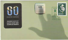 2009 Earth Hour - Special Issue FDC with Fridge Magnet