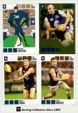 2011 Herald Sun AFL Trading Cards Base Card Team Set Carlton (13)