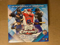 2020 Topps Chrome Update Series Sapphire Edition Sealed Box Online Exclusive