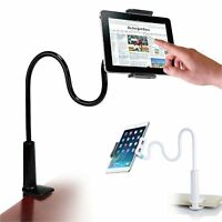 Flexible Long Arms Lazy Stand Clip Holder 4 Mobile Phone Tablet iPad Desktop Bed