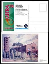 ITALIA REP. - CARTOLINA - 1998 - GIFRA '98 - Giornate Filateliche Ravennate