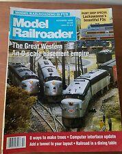 Model Railroader Magazine October 1992