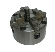 RDGTOOLS NEW 100MM 4 JAW INDEPENDENT LATHE CHUCK FRONT MOUNT