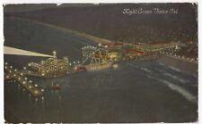 USA; Night Scene, Venice, California PPC 1911 PMK