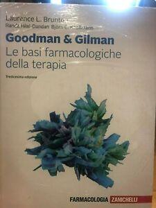 Le Basi Farmacologiche della Terapia Goodman Gilman 2019