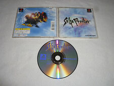 JAPAN IMPORT GAME PLAYSTATION SAGA FRONTIER PS1 COMPLETE SQUARESOFT