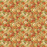 QT Fabrics Mary's Journey by Mary Engelbreit 26550 S Yellow Flowers Cotton Fab