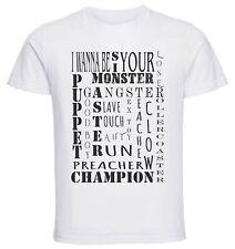 T-Shirt White - Maglia Bianca - Maneskin - I wanna be your slave - Lyrics