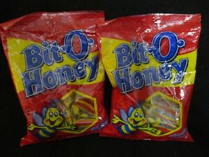 Pearson's Bit O Honey Chewy Candy - Gluten Free & Low in Fat- {NEW/SEALED}2 BAGS