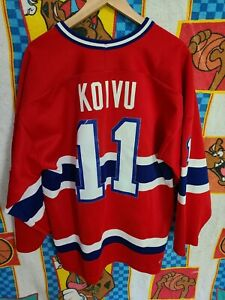 Montreal Canadiens Saku Koivu CCM Jersey Vintage Mens XL