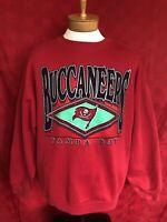 VINTAGE 1990s Logo 7 Tampa Bay  Buccaneers Bucs sweatshirt XL NFL