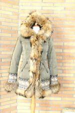 Authier down fur coat size 10