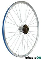QR 700c 29er wheelsON Rear Wheel 6/7Spd Disc/V-Brakes Shimano Freewheel MTB