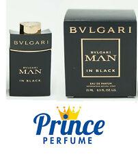 BULGARI MAN IN BLACK EDP (DA VIAGGIO) VAPO NATURAL SPRAY - 15 ml