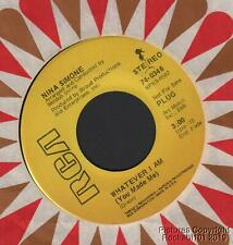 (Hear) 1970 Nina Simone Soul Jazz Non-Album M- DJ 45 (Whatever I Am)