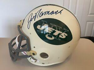 Joe Namath NY Jets signed helmet