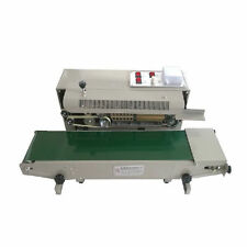 AUTOMATIC HORIZONTAL CONTINUOUS SEALER CONSTANT HEAT PLASTIC BAG SEALING MACHINE