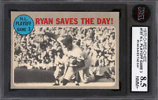 1970 TOPPS OPC O PEE CHEE #197 Nolan Ryan Saves The Day KSA 8.5 NM-MINT+ NY Mets
