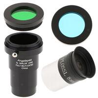 8mm 1.25inch Plossl Telescope Eyepiece+5X Barlow Lens+2Pcs Astronomy Filter