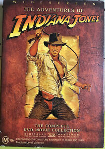 The Adventures of Indiana Jones: Complete Movie Collection Box Set DVD, Region 4