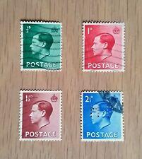 Complete Gb used stamp set - 1933 King Edward Viii definitives