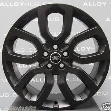 "GENUINE RANGE ROVER L405/L494 SPORT 22"" STYLE 504 BLACK STEALTH ALLOY WHEELS X4"