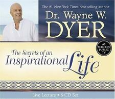 "Dr. Wayne Dyer ""The Secrets of an Inspirational (In-Spirit) Life"" 6 CD Brand New"