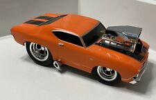 Muscle Machines 1:18 Diecast RARE Orange '69 Chevelle SS 396 FREE SHIPPING