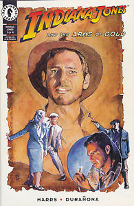 Indiana Jones and the Arms of Gold #1-4 set Dark Horse Comics