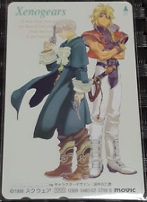 New Xenogears Phone Card Barthlomei & Billy Rare Kunihiko Tanaka