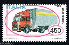 ITALIA UN FRANCOBOLLO MACCHINA AUTOTRENO IVECO AUTO 1984 nuovo**