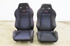 JDM Acura Integra DC2 Type R SR3 Black Recaro Seats LH RH with Rails EG EK ITR