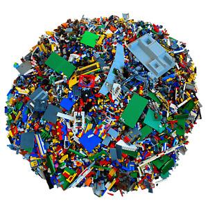 LEGO® 1 Kilo kg - Steine Platten Sondersteine Minifiguren gemischt - Kiloware