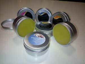 6 x Olive Oil & Beeswax Body Balms - Moisture, Eczema, Healing Mother & BabyCare